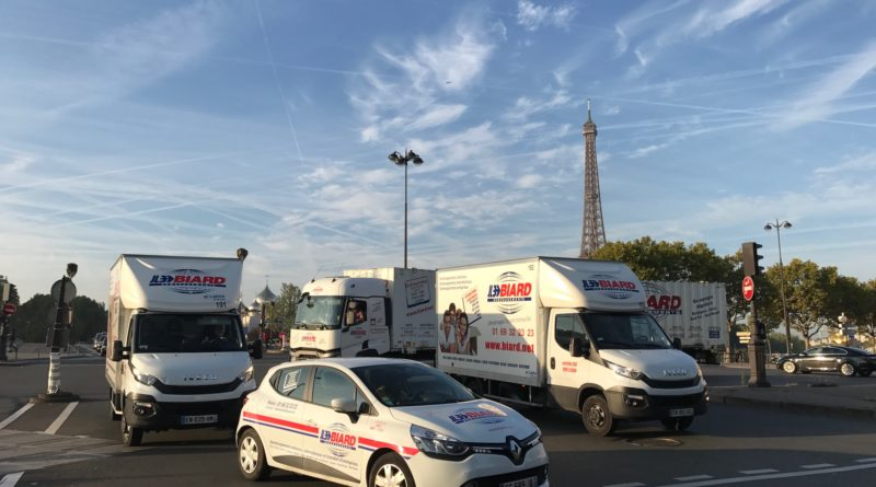 Biard Déménagements Paris