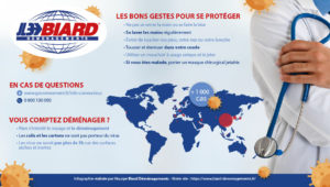 Coronavirus : les mesures et conseils déménagements